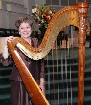 Marie Barnes, Alabama Harpist